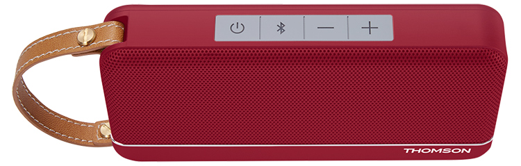 THOMSON Wireless Portable Speaker (red metallic) SB50BT - Image  #2tutu